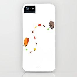 Hammy food trail iPhone Case