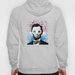 Abraham Lincoln - 3D Hoody