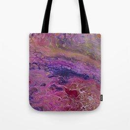 Fluid Pink Tote Bag