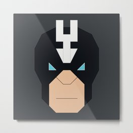 Black Bolt Metal Print
