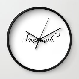 Savannah Wall Clock