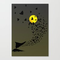 bats Canvas Prints featuring Bats by Badamg