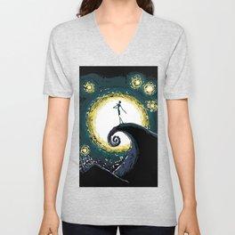 Jack & the Moon Unisex V-Neck