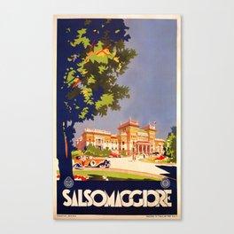 Salsomaggiore Italy 1920s Canvas Print