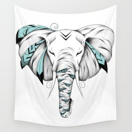 Poetic Elephant Wall Tapestry