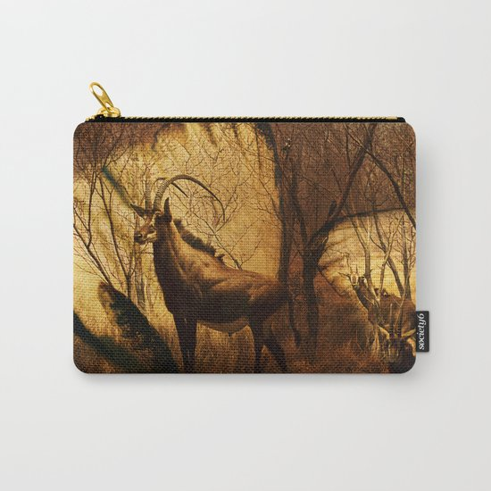 Diorama :: Antelope Carry-All Pouch
