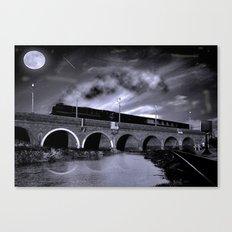 The Night Train Canvas Print
