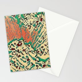 Food Fight Stationery Cards