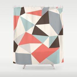 Mod Hues Tris Shower Curtain