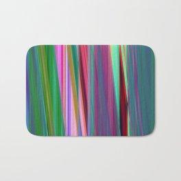 fall stripes Bath Mat