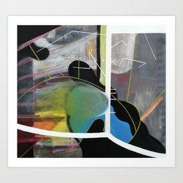 200% (oil on canvas) Art Print