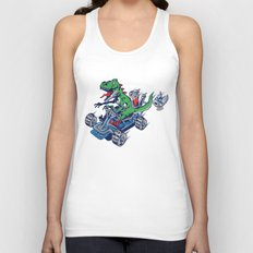 Clever Shell Unisex Tank Top