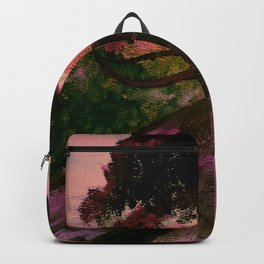 Cypress in Carmel California Backpack