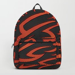 Tech Tribal ORANGE Backpack