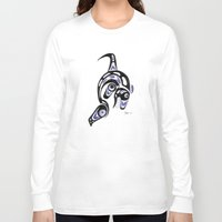 killer whale Long Sleeve T-shirts featuring Killer Whale Number 1 by The Marko