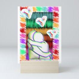 Embrace the inside Mini Art Print