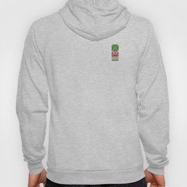 Nordic Green Flower Hoody