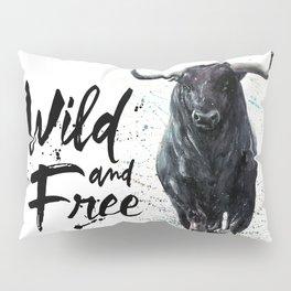 Buffalo wild & free Pillow Sham