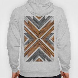 Urban Tribal Pattern 4 - Wood Hoody