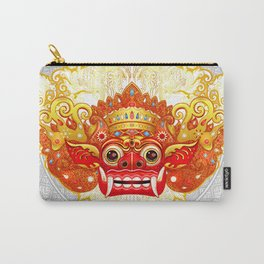 Barong, Balinese mask, Bali mask #3 Carry-All Pouch