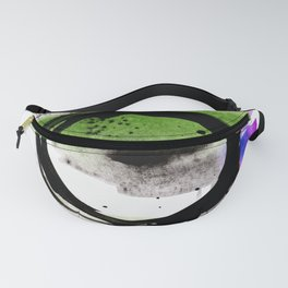 Enso Abstraction o. 113E by Kathy Morton Stanion Fanny Pack