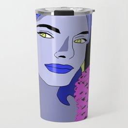 Blue is the warmest color Travel Mug