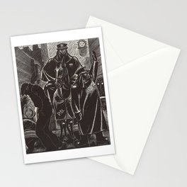 April by Fritz Eichenberg Stationery Cards