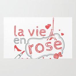 La Vie En Rose. Rug