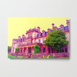 dyffryn gardens in technicolor Metal Print
