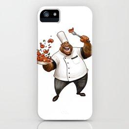 Chef Demetrius Gumbo iPhone Case