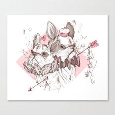 Puppycakes Canvas Print