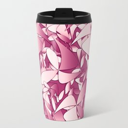 Pattern pink 4 Travel Mug