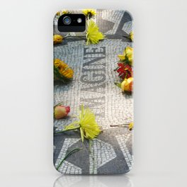 Imagine at Strawberry Fields iPhone Case
