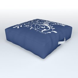 Let Your Heart Sing Outdoor Floor Cushion