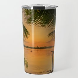 Sunset in Hoi An Vietnam Travel Mug