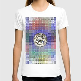 Diamond in Multi-Coulors T-shirt
