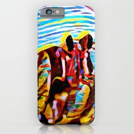 Palawan Hermit Fiesta   Painting iPhone Case