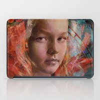 alice in wonderland iPad Cases featuring Alice in wonderland by Ganech joe