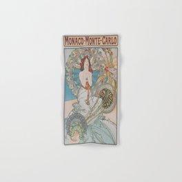 Vintage poster - Monte Carlo Hand & Bath Towel