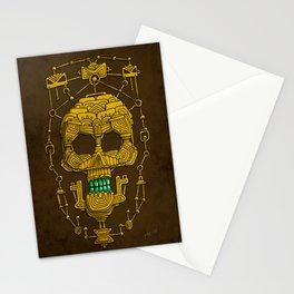 Aztec Skull Stationery Cards