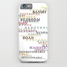 Word Inventions William Shakespeare Quote Art - Typography iPhone 6s Slim Case