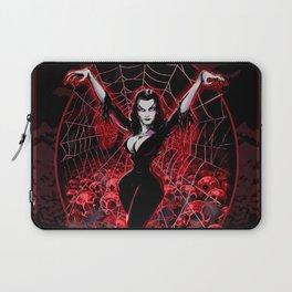 Web of Vampira Laptop Sleeve