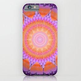 The Violet Flame Mandala iPhone Case