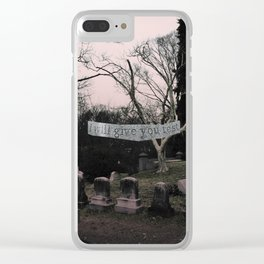 Slumber Clear iPhone Case