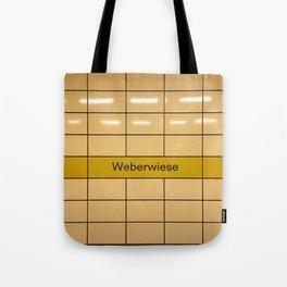 Berlin U-Bahn Memories - Weberwiese Tote Bag