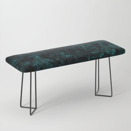 Stone Turquoise pattern Bench