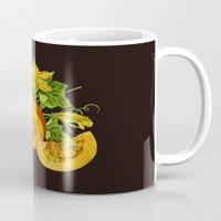 pumpkin Mugs featuring Pumpkin by ElenaTerrin