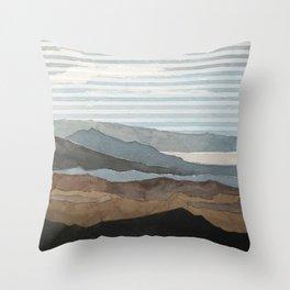 Salton Sea Landscape Throw Pillow