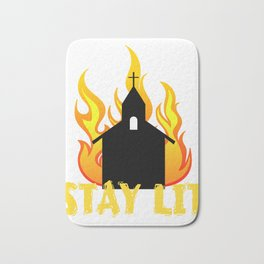 Hot and fiery tee design that is perfect for gift to your friends and family! Grab yours now!  Bath Mat