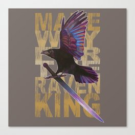 The Messenger/ Raven Cycle Canvas Print
